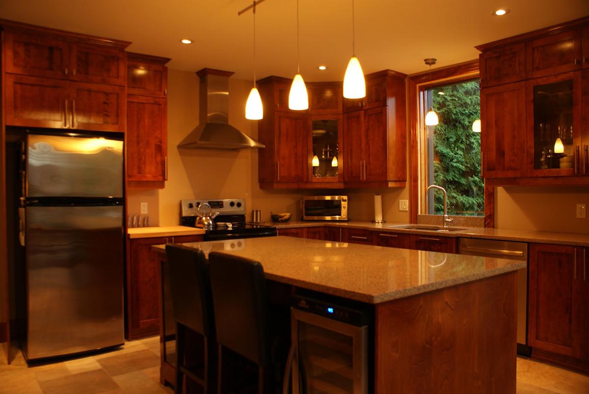 Cuisine chaleureuse les armoires s guin cabinets for Cuisine chaleureuse contemporaine