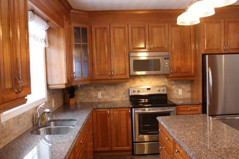 Cherry Wood Kitchen