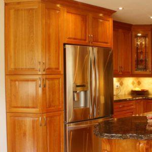 Classic cherry kitchen