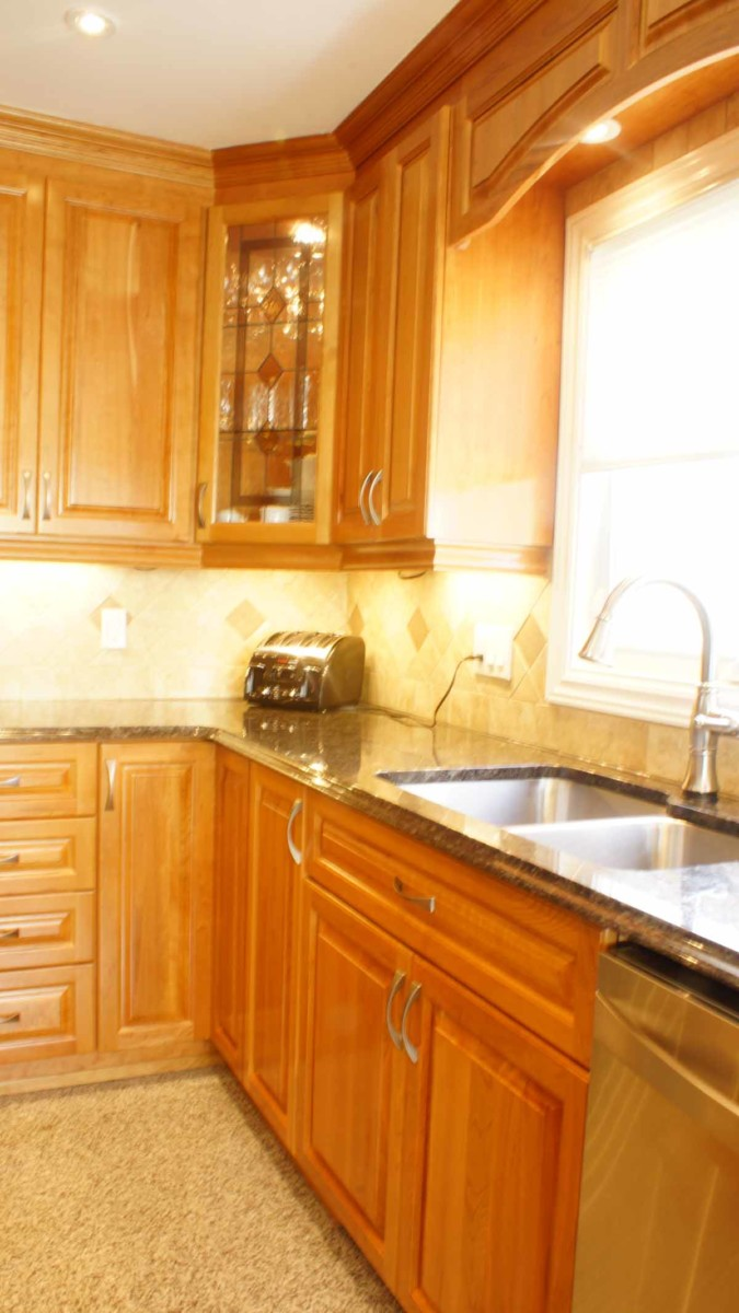 classic cherry kitchen cabinets classic cherry kitchen les armoires s 233 guin cabinets 13598