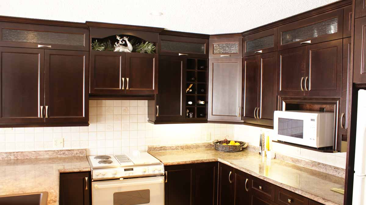 Expresso Kitchen Les Armoires S 233 Guin Cabinets